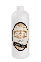 Zvětšit fotografii - Masážní olej TOMFIT - rozmarýn
