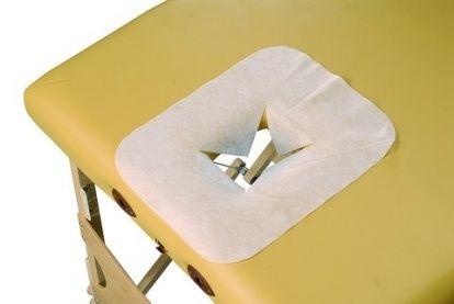 Jednorázová pokrývka otvoru lehátka - 100 ks