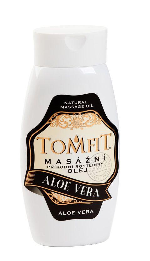 TOMFIT přírodní masážní olej - ALOE VERA 250 ml SAELA s.r.o.