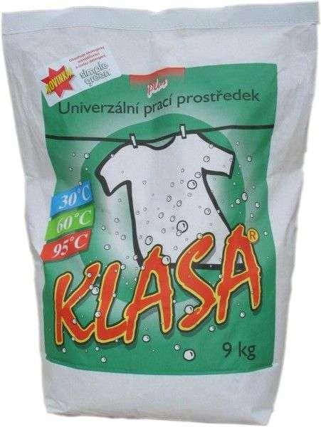 KLASA PLUS prací prášek 9 kg - PRO PRÁDELNY SAELA s.r.o.