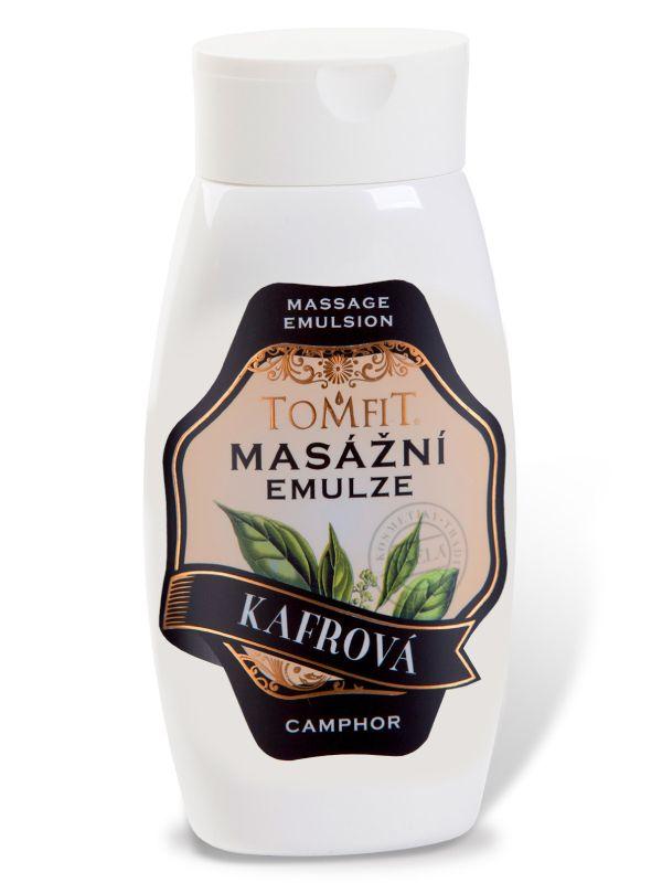 Masážní emulze TOMFIT - kafrová 250 ml SAELA s.r.o.