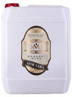 Masážní olej TOMFIT - aloe vera 5 l