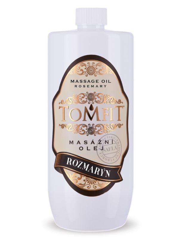 Masážní olej TOMFIT - rozmarýn 1 l SAELA s.r.o.