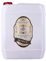 Masážní olej TOMFIT - skořice 5 l