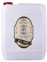 Masážní olej TOMFIT - tea tree 5 l
