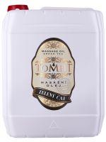 Masážní olej TOMFIT - zelený čaj 5 l