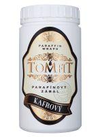 Parafínový zábal TOMFIT - kafrový 500 g