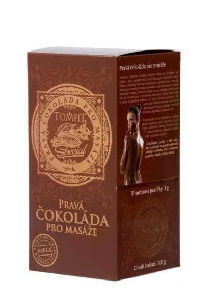 Pravá čokoláda pro masáže SAELA s.r.o.