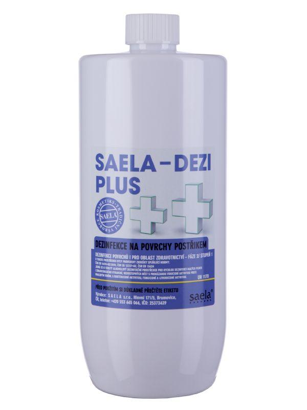 SAELA - DEZI PLUS - dezinfekce na povrchy - 1000 ml náhradní obal SAELA s.r.o.