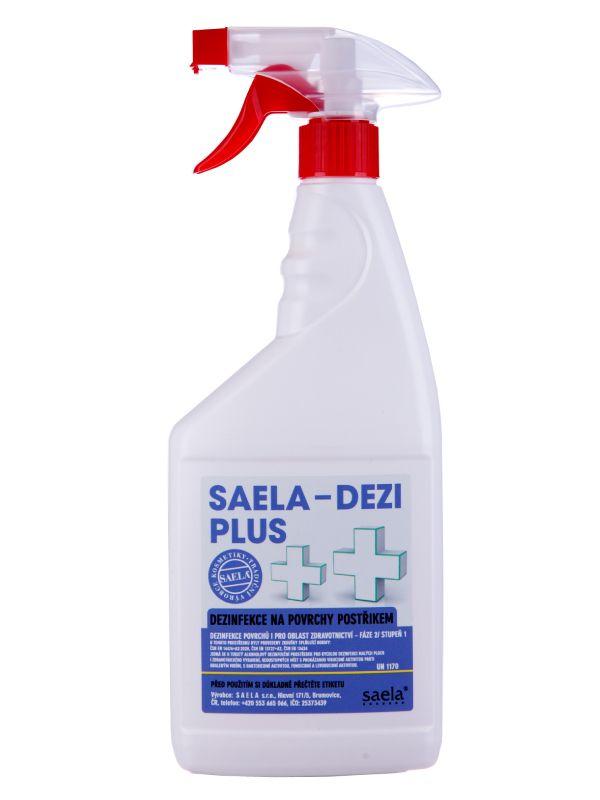 SAELA - DEZI PLUS - dezinfekce na povrchy - 750 ml s rozprašovačem SAELA s.r.o.