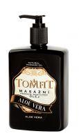 TOMFIT přírodní masážní olej - ALOE VERA 500 ml