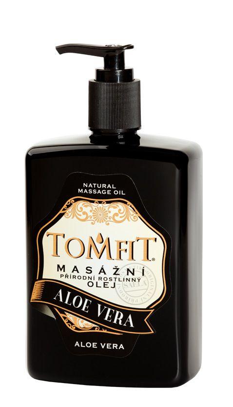 TOMFIT přírodní masážní olej - ALOE VERA 500 ml SAELA s.r.o.