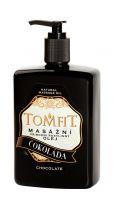 TOMFIT přírodní masážní olej - ČOKOLÁDA 500 ml