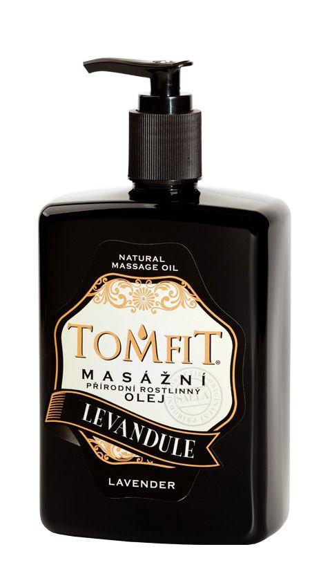 TOMFIT přírodní masážní olej - LEVANDULE 500 ml SAELA s.r.o.