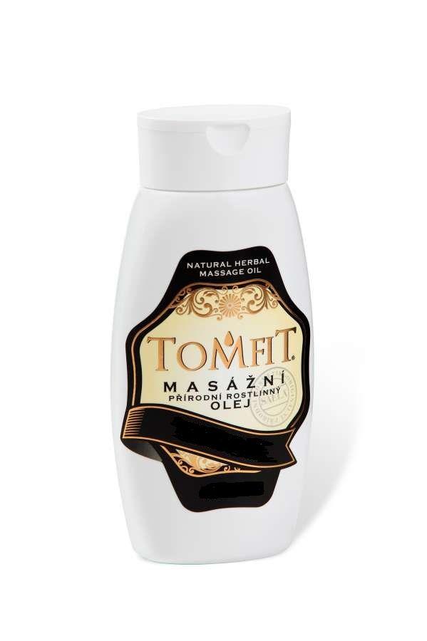 TOMFIT masážní přírodní rostlinný olej - MANDLOVÝ 250 ml SAELA s.r.o.