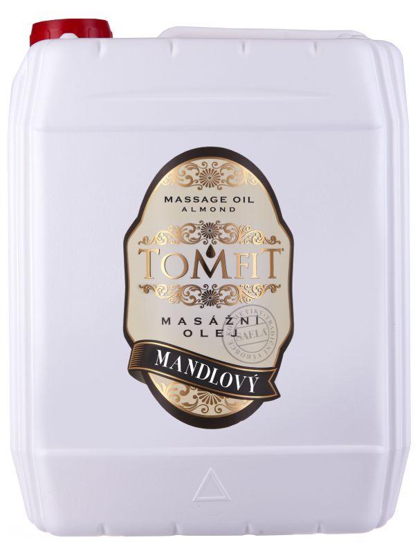 TOMFIT masážní přírodní rostlinný olej - MANDLOVÝ 5 l SAELA s.r.o.