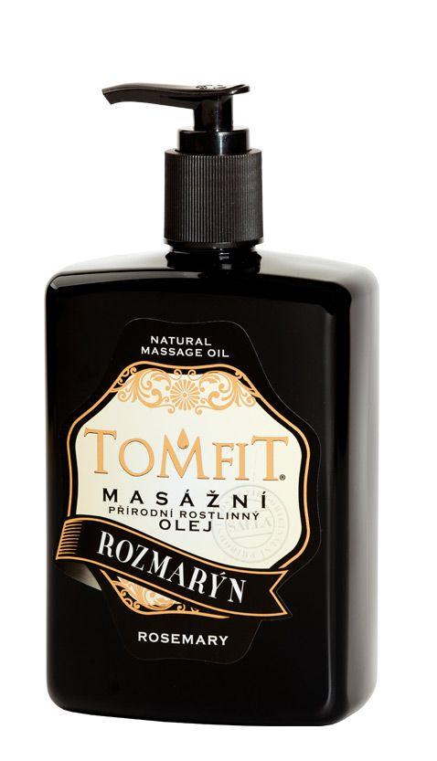 TOMFIT přírodní masážní olej - ROZMARÝN 500 ml SAELA s.r.o.