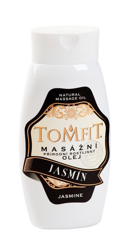 TOMFIT přírodní masážní olej - JASMÍN 250 ml SAELA s.r.o.