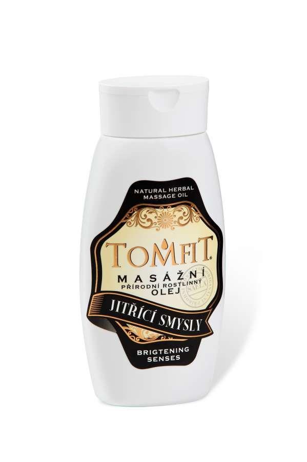 TOMFIT přírodní masážní olej - JITŘÍCÍ SMYSLY 250 ml SAELA s.r.o.