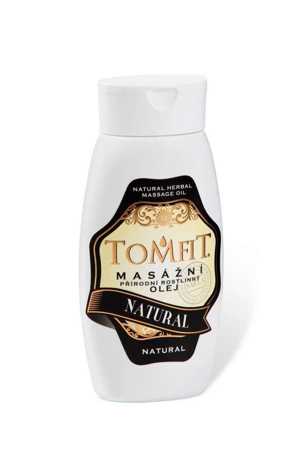 TOMFIT přírodní masážní olej - NATURAL 250 ml SAELA s.r.o.