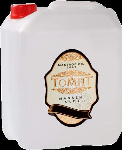 TOMFIT přírodní masážní olej - NATURAL 5 l SAELA s.r.o.