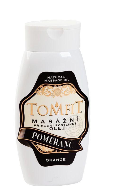 TOMFIT přírodní masážní olej - POMERANČ 250 ml SAELA s.r.o.
