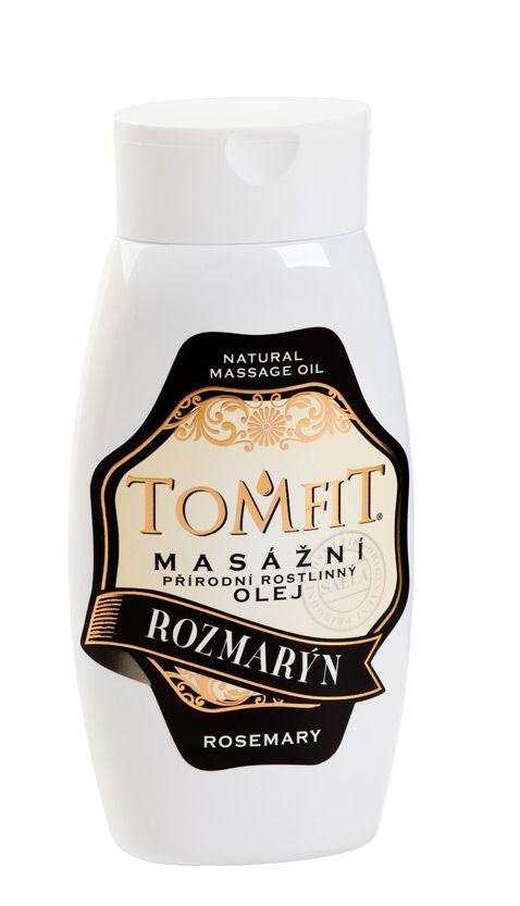 TOMFIT přírodní masážní olej - ROZMARÝN 250 ml SAELA s.r.o.