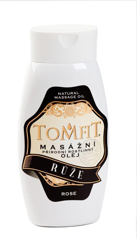 TOMFIT přírodní masážní olej - RŮŽE 250 ml SAELA s.r.o.