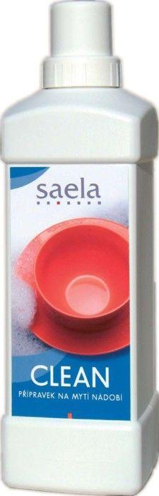 CLEAN - přípravek na nádobí 1 l SAELA s.r.o.