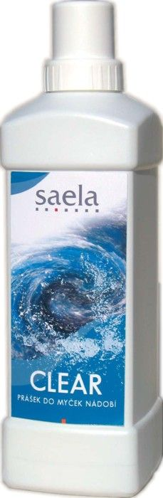 CLEAR - prášek do myček nádobí 1 kg SAELA s.r.o.