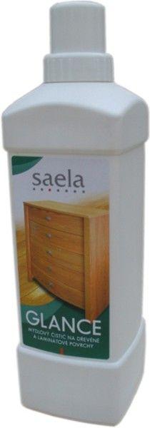 GLANCE mýdlový čistič na dřevěné a laminátové povrchy 1l SAELA s.r.o.