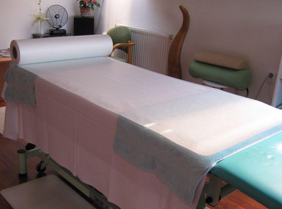 Jednorázové prostěradlo-100 m role-netkaná textilie (na toto zboží se přapravné ZDARMA nevztahuje)