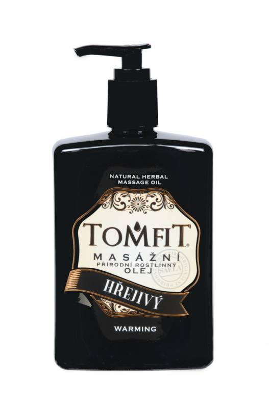 TOMFIT přírodní masážní olej - HŘEJIVÝ 500 ml SAELA s.r.o.