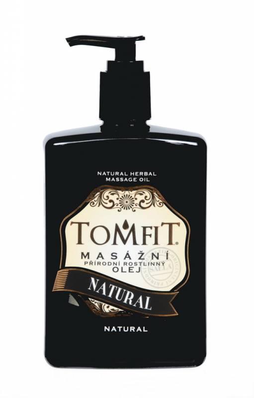 TOMFIT přírodní masážní olej - NATURAL 500 ml SAELA s.r.o.