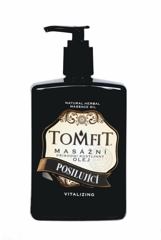 TOMFIT přírodní masážní olej - POSILUJÍCÍ 500 ml SAELA s.r.o.