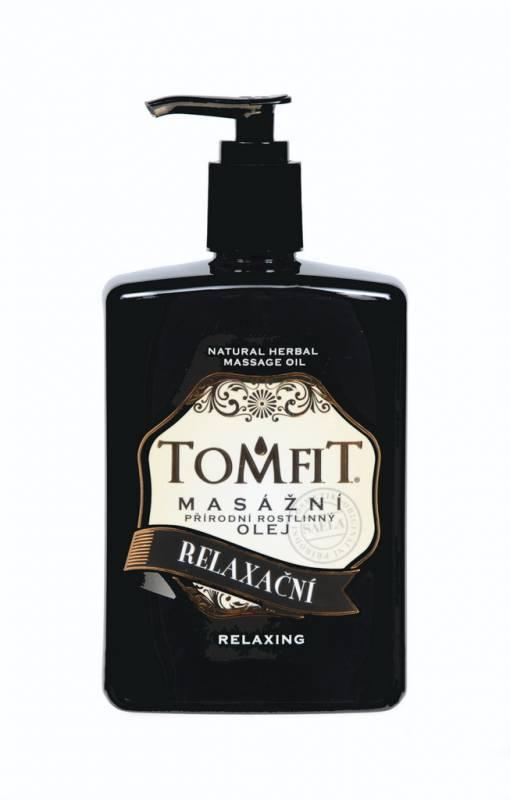 TOMFIT přírodní masážní olej - RELAXAČNÍ 500 ml SAELA s.r.o.