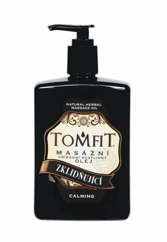 TOMFIT přírodní masážní olej - ZKLIDŇUJÍCÍ 500 ml SAELA s.r.o.
